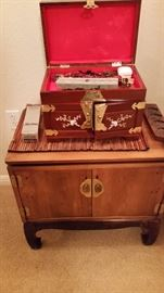 Japanese Cabinet and Jewelry Box