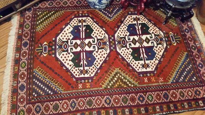 Vintage Geometric Rug- Perhaps Indian