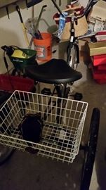 Bicycle 3 Wheel with Basket