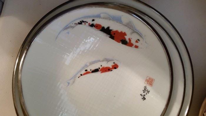 Koi Fish Bowl Set of 3