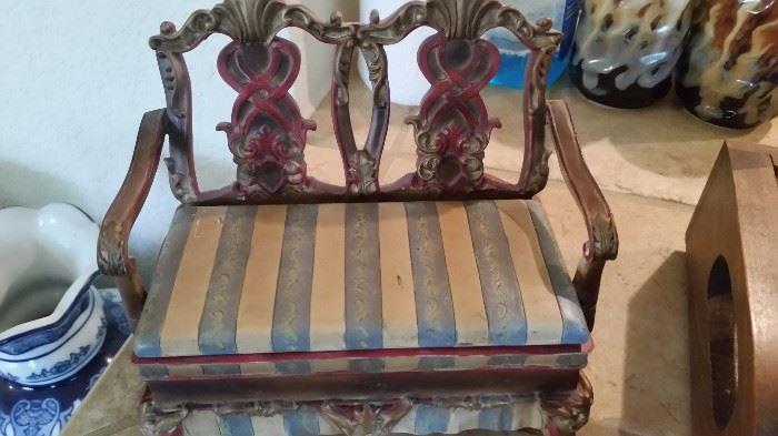 Chair Trinket Box