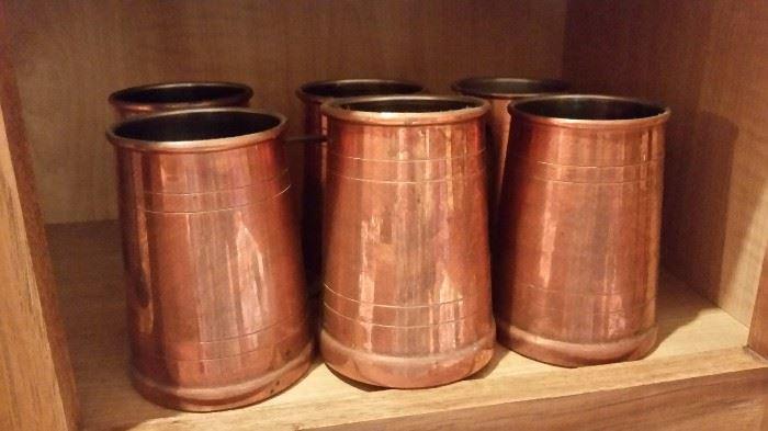 Copper Tankards