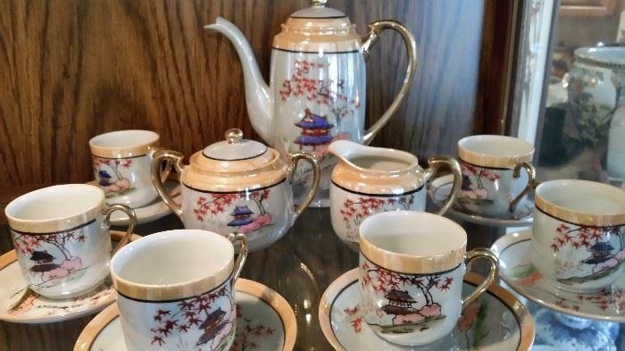 Luster Tea Set- Gorgeous