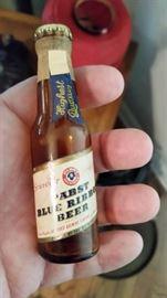 Rare advertisng bottle- Pabst Blue Ribbon Beer