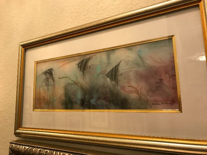 Original Painting by Anton Wang