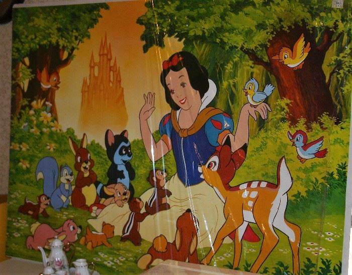 Extensive Collection of Snow White & the Seven Dwarfs (Entire Room Full)