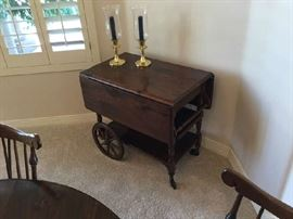 Ethan Allen Serving Cart