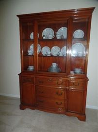 Lighted China Cabinet