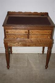 Beautiful antique Oak Printers desk
