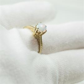 antique-edwardian-14-karat-gold-opal-ring-sale-jewelry-Gold