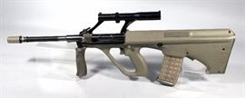 Steyr Mannlicher AUG/SA Take Down Rifle, .223 Cal, SN# 904SA102, 7 Mags, Pre-Ban Model and Style, Can Legally be Converted to Automatic