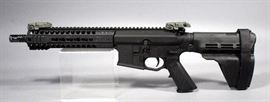Head Down Provectus Triton 10P AR-15 Pistol, .300 AAC, SN# PV001763, Sig Brace, Hard Case and Paperwork