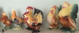 Some of the Rooster collection