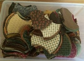 Lots of Quilting pieces and uncut fabric