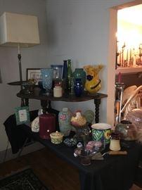 Vases, bottles, jars - oh my!