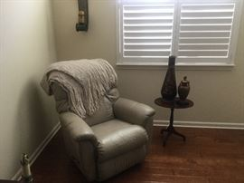 Recliner and decor