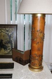 Antique French Wallpaper Printing Roller