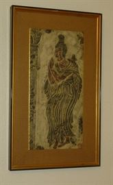 Collection of Asian temple rubbings