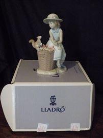 "Lladro #6825 ""Hello Little Squirrel"" with Original Box."