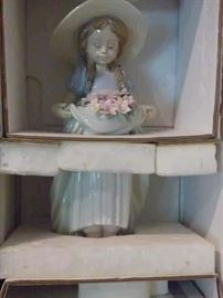 "Lladro #6756 ""Bountiful Blossoms"" with original box."