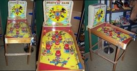 """Toy Room Right Superior """"State Fair"""" Pin Ball Game"""