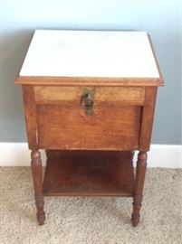 007 Antique Side Table