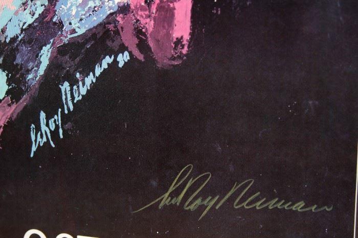 Le Roy Neiman Signature