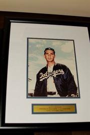 Sandy Koufax Signed Photo