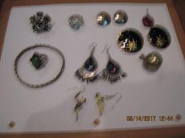 lots of earrings