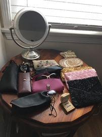 vintage purses, vintage sunglasses