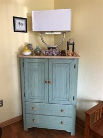 Two Very Pretty French Country Cabinets