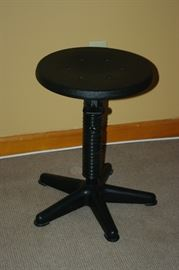 Black stool made in Germany