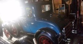 1929 Ford coupe roadster with rumble seat
