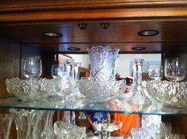 CRYSTAL GLASS $3 TO $30