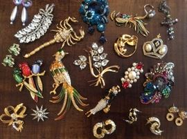Pretty costume jewelry