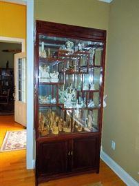 Rosewood Curio Cabinet