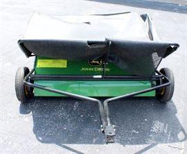 "John Deere 42"" Lawn Sweeper with Manual"