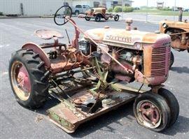 1939 International Harvester Farmall B Row-Crop Tractor