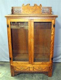 "Custom Display Cabinet Made From An Organ, 43""W x 66""H x 16""D"