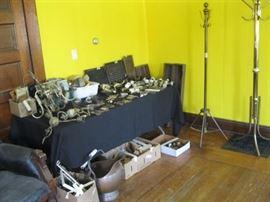 Full length shot of Hardware Table (inside house)