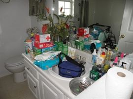 Toiletries, and cosmetics