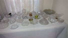Crystal, Butter Dishes
