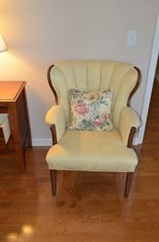 Pair of Reupholstered Vintage Chairs