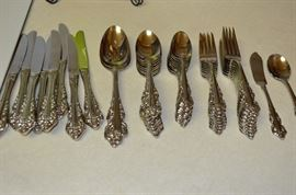 8 Place Stainless Set by Wallace Co.