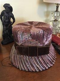 Vintage Hat with Union Ladies Label