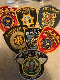 Police/Sheriff Patches