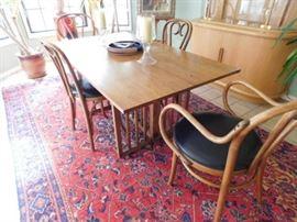 Mid Century Teak drop leaf table