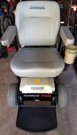 Huvaround chair has new batteries & has just been recently approved by Humaround
