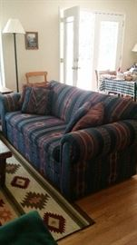 La-Z-Boy sleeper sofa--SOLD, new mechanism never opened, excellent condition & supportive seating