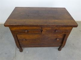 Antique Low Chest of Drawers